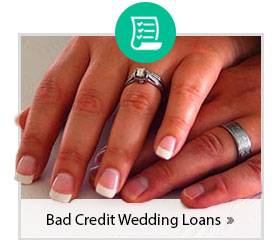 Bad Credit Wedding Loan